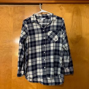 Bundle of two Old Navy women's flannel shirts